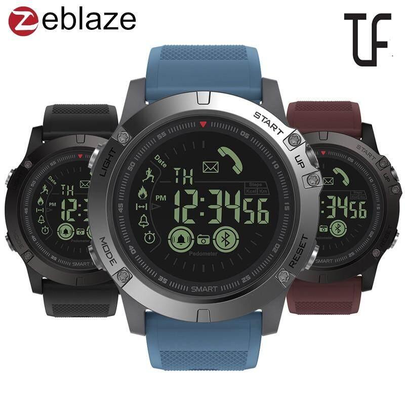 Zeblaze Vibe 3 Smartwatch Bercahaya Dial Baterai Rendah Tempat Aktivitas Sepanjang Hari Merekam Olahraga 33 Bulan