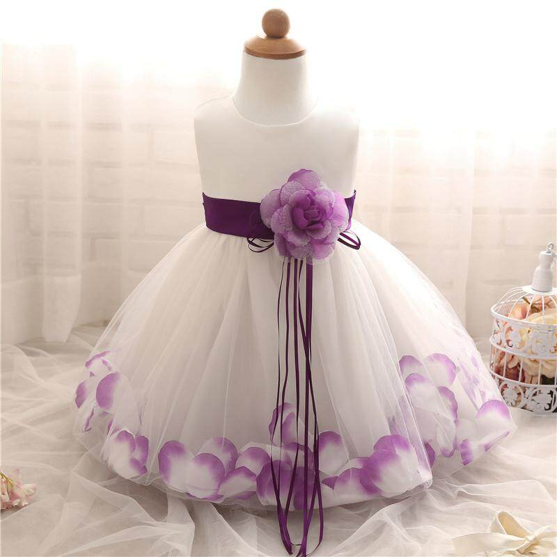 b3182ca82e182 My Baby Dress 1 Year Birthday Party Dresses Baptism Christmas Tutu Flower  Infant Christening Gown Newborn Toddler Bebes Clothes