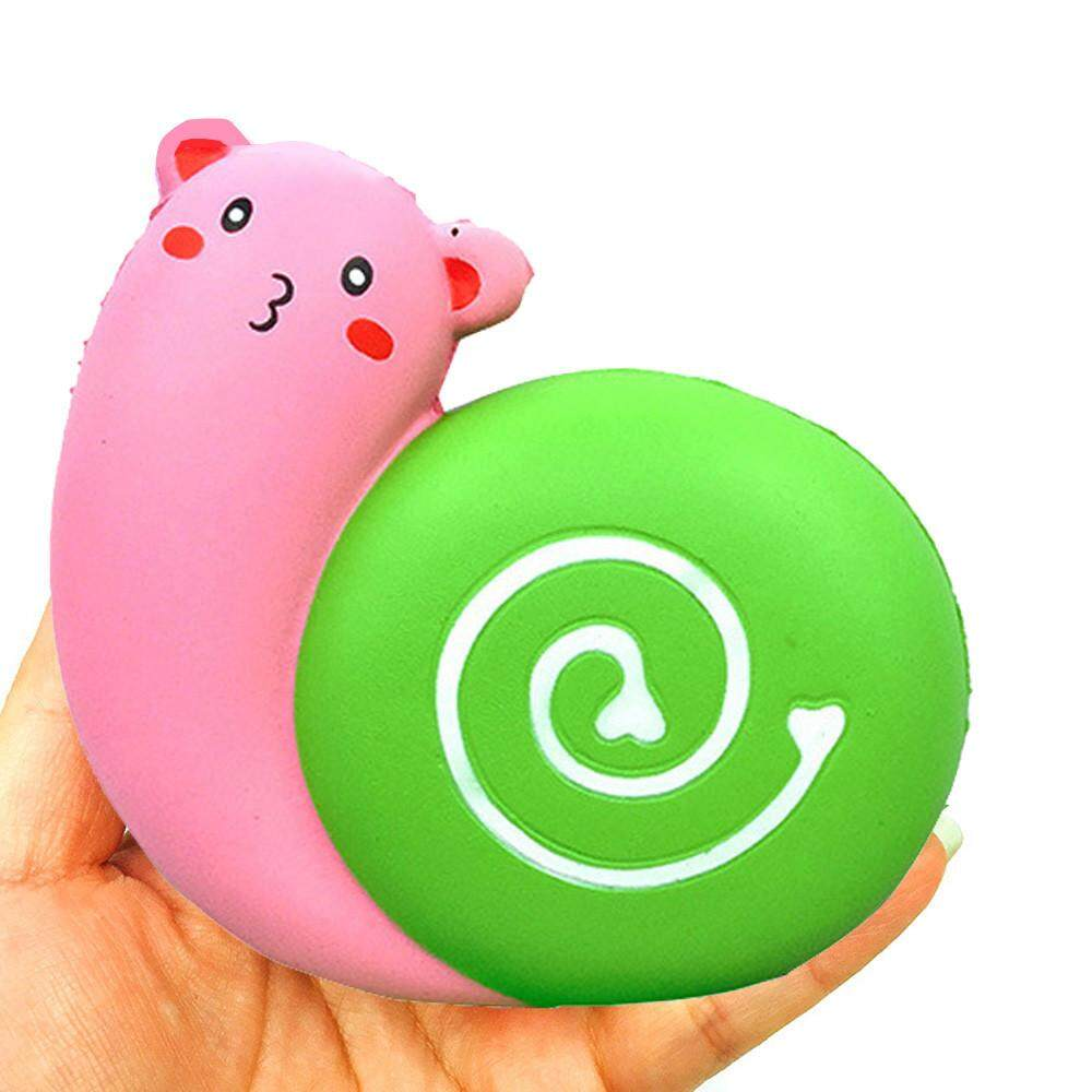 MyAnswer 12cm SquishyJumbo Cute Love Snail Slow Rising Cream Squeeze Scented Cure Stress Free shipping