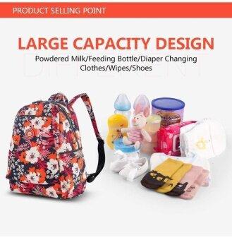 Mummy Nappy Diaper Bag Baby Washable Large Nursing Travel Backpack