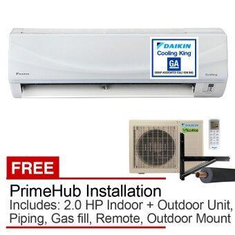 Daikin 2.0HP Air Conditioner FTN20P (Split Indoor + Outdoor Air Con Unit) Eco King