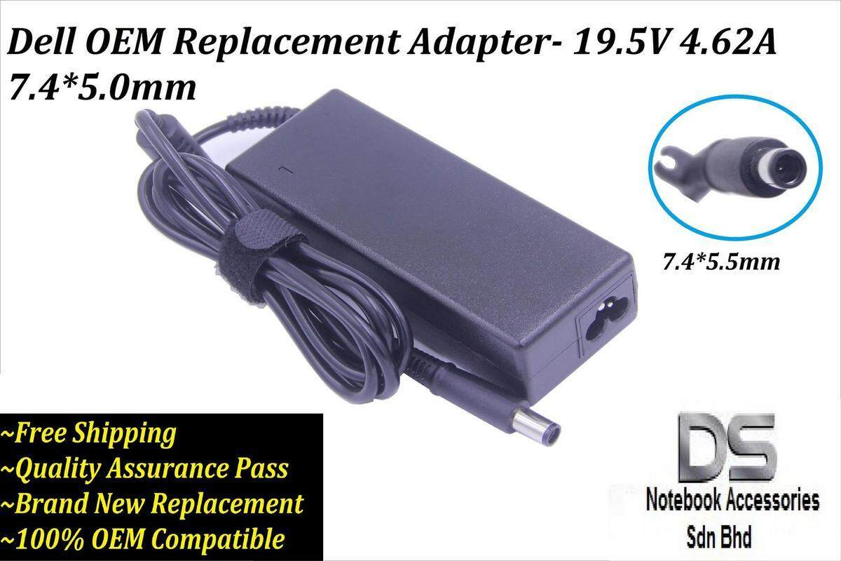 ~1 Year Warranty~ Dell Inspiron 15 3878 AC Charger /Dell 19.5V 4.62A (90W) (7.4*5.0mm) Laptop Charger