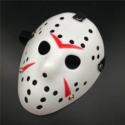 1Pcs Horror Movie Hockey Mask Jason Voorhees Cosplay Party Props Scary Carnaval Halloween Mask Masquerade Mascaras Disfraces
