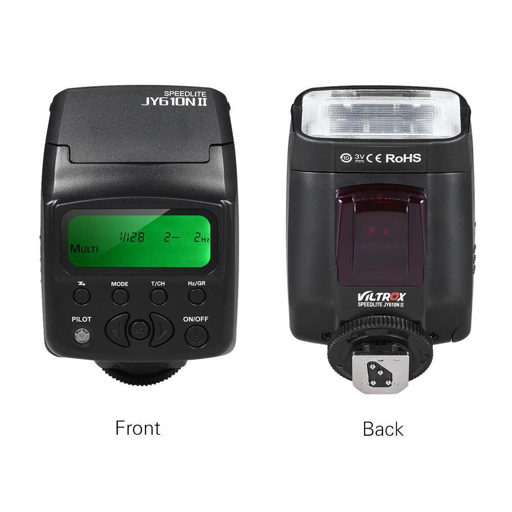 Viltrox JY-610N II i-TTL On-camera Mini Flash Speedlite for Nikon D3300 D5300 D7100 Camera image