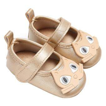 Owl Type Newborn Baby Shoes Soft Sole Inch Walkers slip First 6Months 0 Khaki Anti