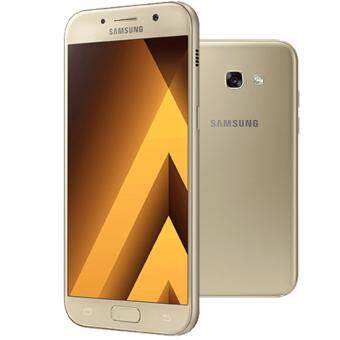 "SAMSUNG GALAXY A7 (2017) 5.7"" Octacore 3+32GB Gold (1 Year Samsung Official Warranty)"