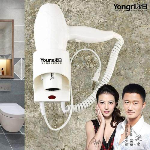 Breeze machine household-use guest house bathroom toilet in the hotel blows the breeze tube stem hair machine whole day whole day 6601 hang a wall type electricity to blow
