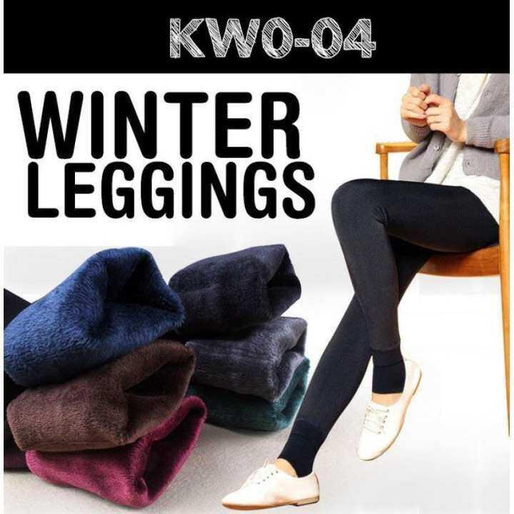 Women Winter Leggings / Keep Warm/ Inner Wear/ Women Pants