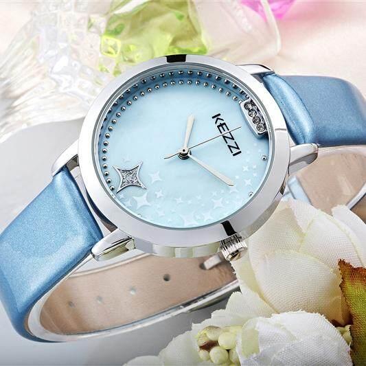 Nơi bán Akerfush Châu Âu và Châu Mỹ thời trang màu tím Kế chống nước thương hiệu kim cương Xanh dây đeo đồng hồ nhỏ Đồng hồ nữ dây Thạch Anh Mỹ