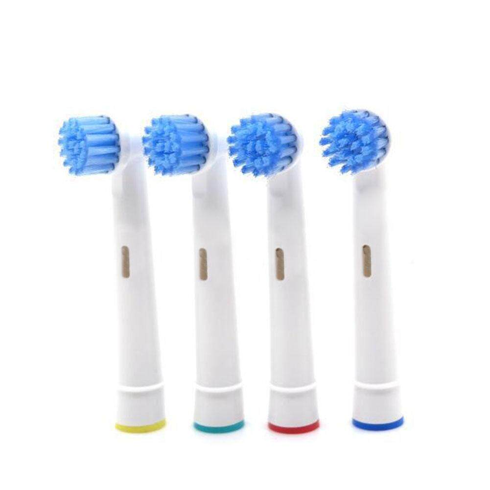 ABH 4Pcs Sensitive Clean Gum Care Teeth Replacement Toothbrush Brush Heads for ORAL-B