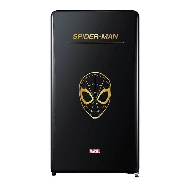 [Limited Edition] DAEWOO Korea Marvel Series FN-M125SM (Spider Man) 125L Classic 1 Door Fridge/Refrigerator