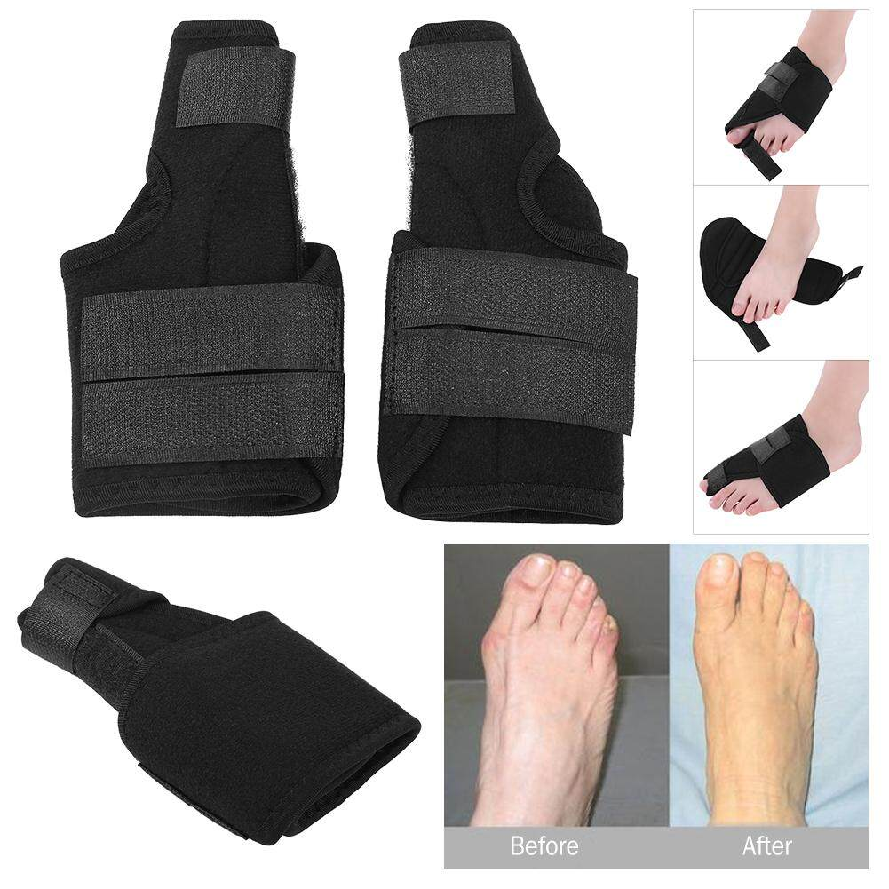 1 Pair Breathable Pain Relief Big Toe Splint Straighteners Bunion Hallux Valgus Correctors (M)