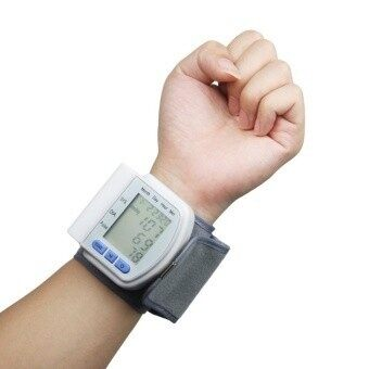TEQStone Wrist Digital Blood pressure Heart Highaccurate with rate Screen Monitor case