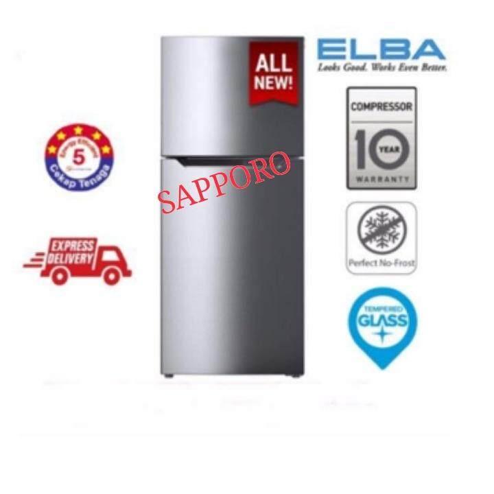 (NEW) ELBA ITALY 250L 2-DOOR REFRIGERATOR ERG2521 (SV)