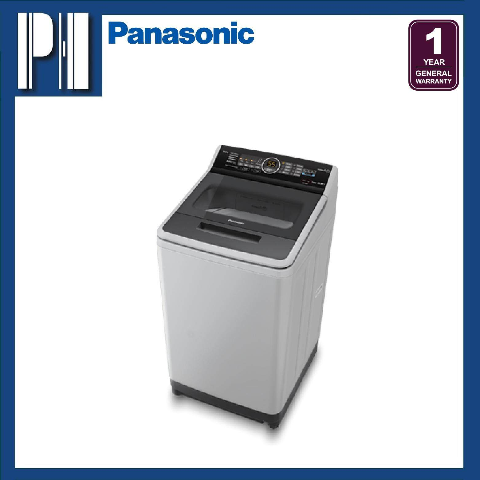 PANASONIC NA-F90A5HRT 9.0KG ActiveFoam System StainMaster Top Load Washer