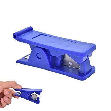 Rubber Silicone PVC PU Nylon Tube Plastic Pipe Hose Cutter Cut Up Scissors