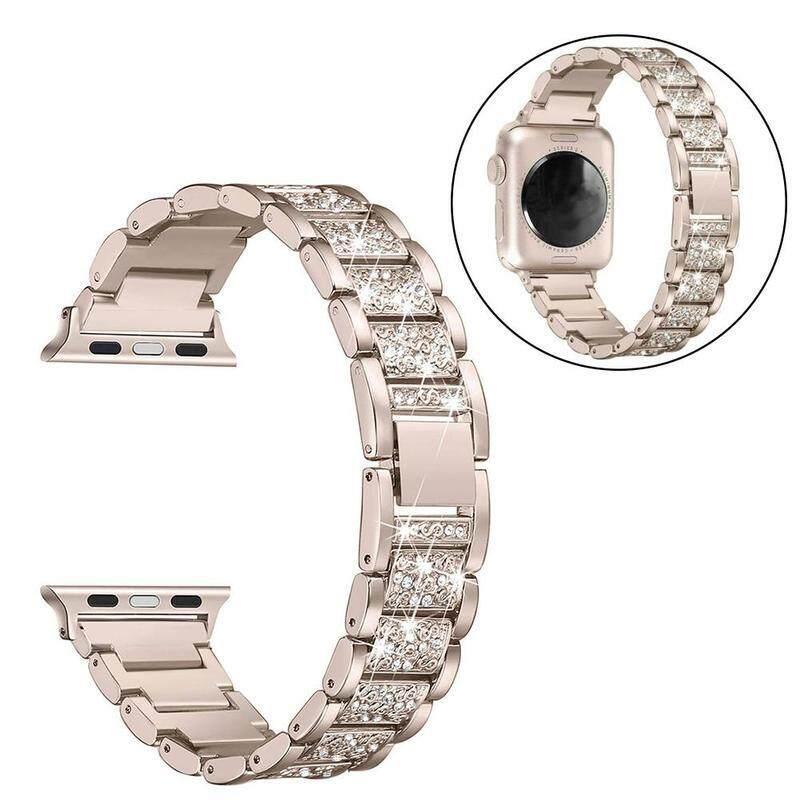 Nơi bán Cho watch3 hói ba hạt full kim cương đai thép chắc chắn Dây chuyền Kim cương dây thép