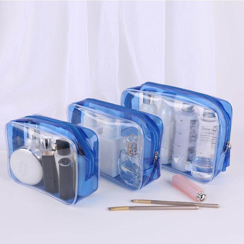 Make Up Organizer Bag Toiletry Bathing Storage Bag Women Waterproof Transparent Floral Pvc Travel Cosmetic Bag Transparent Clear Zipper Makeup Bags Organizer Bath Wash Make Up Tote Handbags Case By Excellent Shopping.