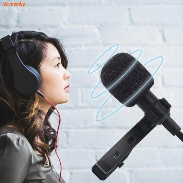 〔Tenda 〕USB Type C Mini Lavalier Microphone Omnidirectional Lapel Clip Mic with Bag