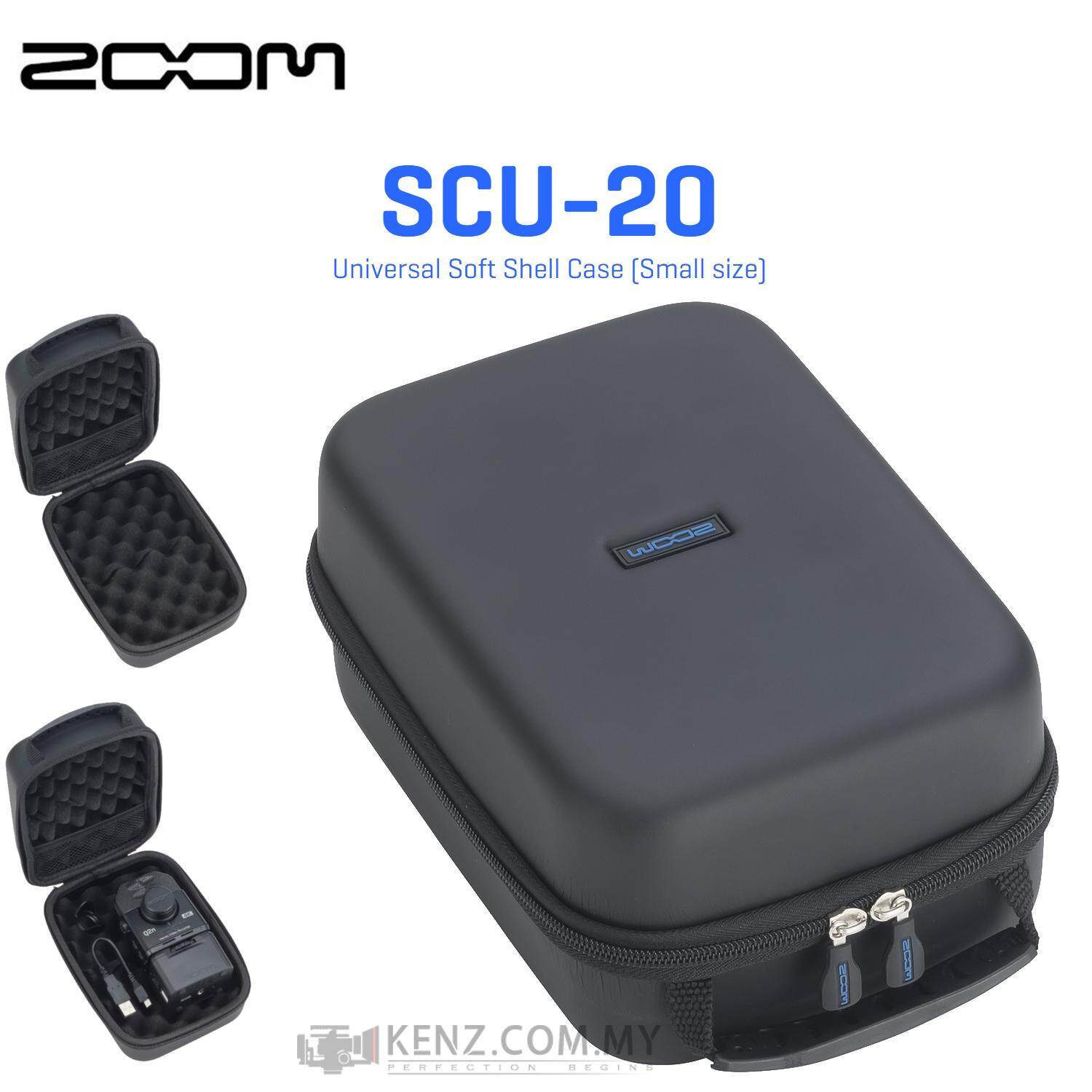 Zoom SCU-20 Universal Soft Shell Case (Small size) Lightweight & Ultra-versatile carrying bag to fit the Zoom Recorder