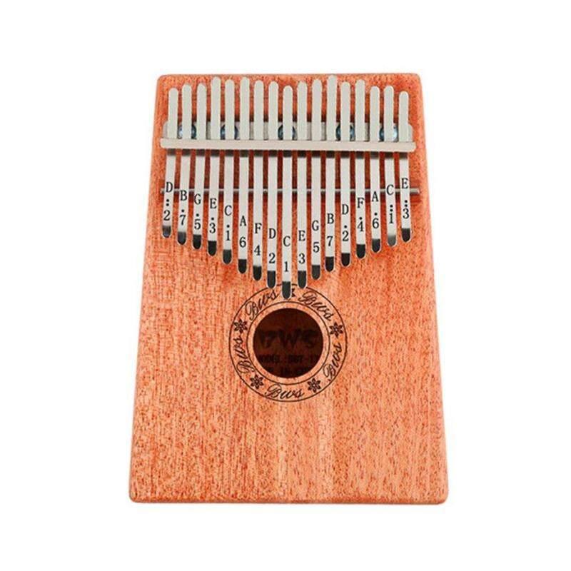 [Khuyến mại] 10 Phím Kalimba Ngón Tay Cái Đàn Piano Chắc Chắn Ngón Tay Piano Gỗ Gụ Cơ Thể Cho Người Mới Bắt Đầu
