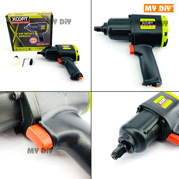 "MYDIYHOMEDEPOT - XCORT Heavy Duty 1/2"" Air Impact Wrench"