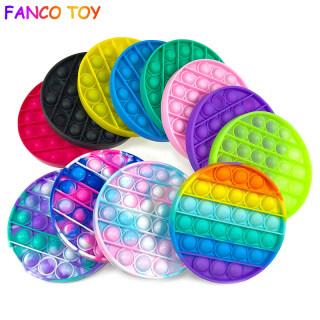Đồ chơi Pop It hình tròn nhiều màu sắc độc đáo giúp giảm căng thẳng - INTL thumbnail