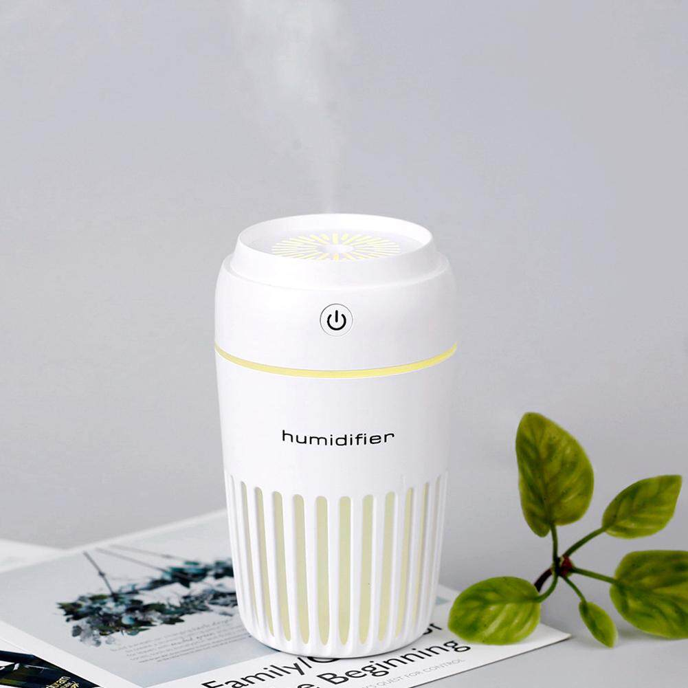 300ml Office With Night Light Cup Shape Led Portable Mini Moisturizing Space Time Aroma Diffuser Negative Ion Home Car USB Humidifier