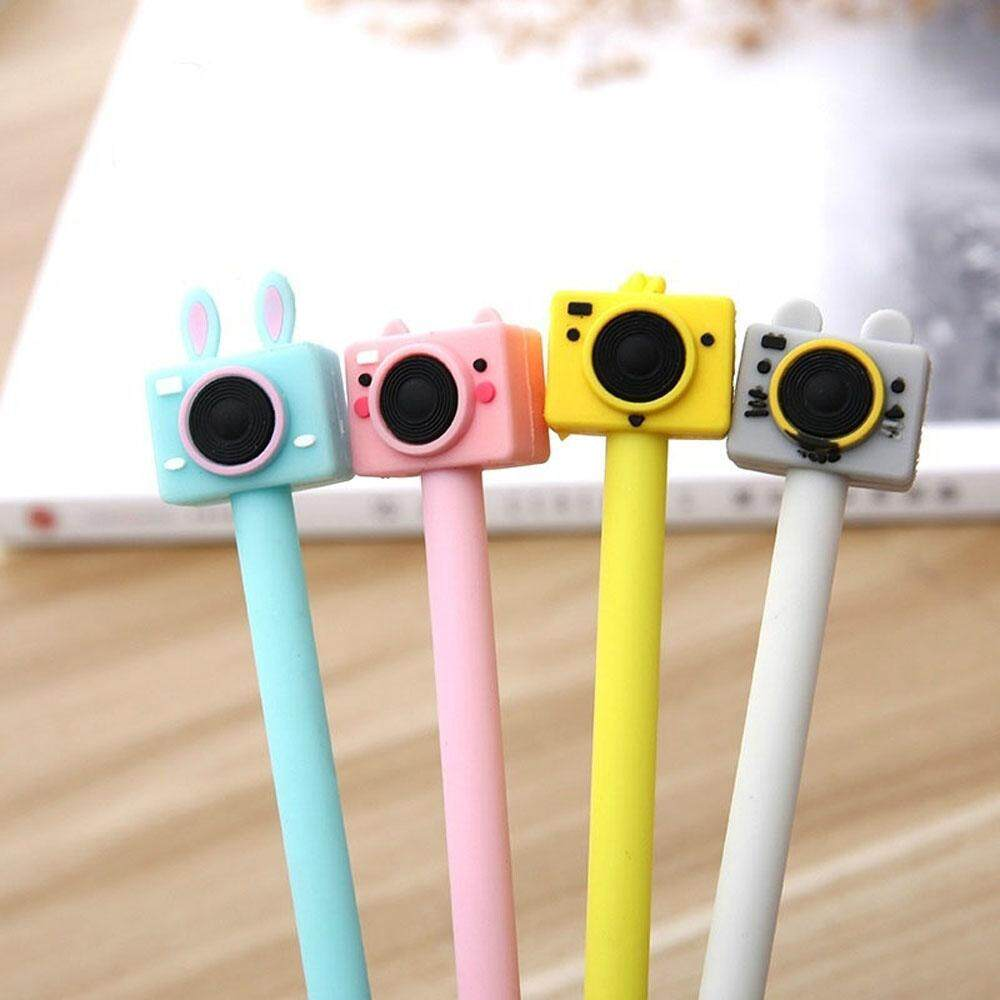 1* Creative Office Supplies Black Ink Kawaii 0.5mm School Supplies Gel Pen Signature Pen Stationery