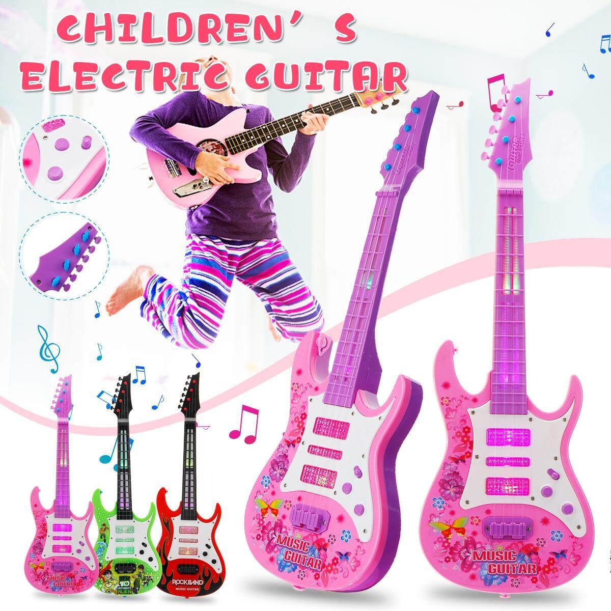 【Free Vận Chuyển + Siêu Đối Phó + Hạn Chế Offer】 4 Dây Điện Trẻ Em Guitar Nhạc Cụ Đồ Chơi Sáng Tạo Âm Nhạc Đồ Chơi Mini đàn Guitar Trẻ Em Quà Tặng Sinh Nhật