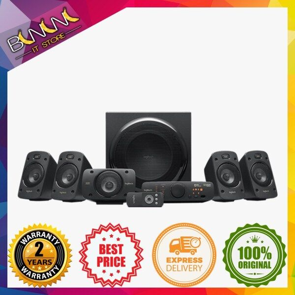 LOGITECH Z906 5.1 SURROUND SOUND THX-CERTIFIED SPEAKERS -(980-000468) ( LOGITECH MALAYSIA ) Malaysia