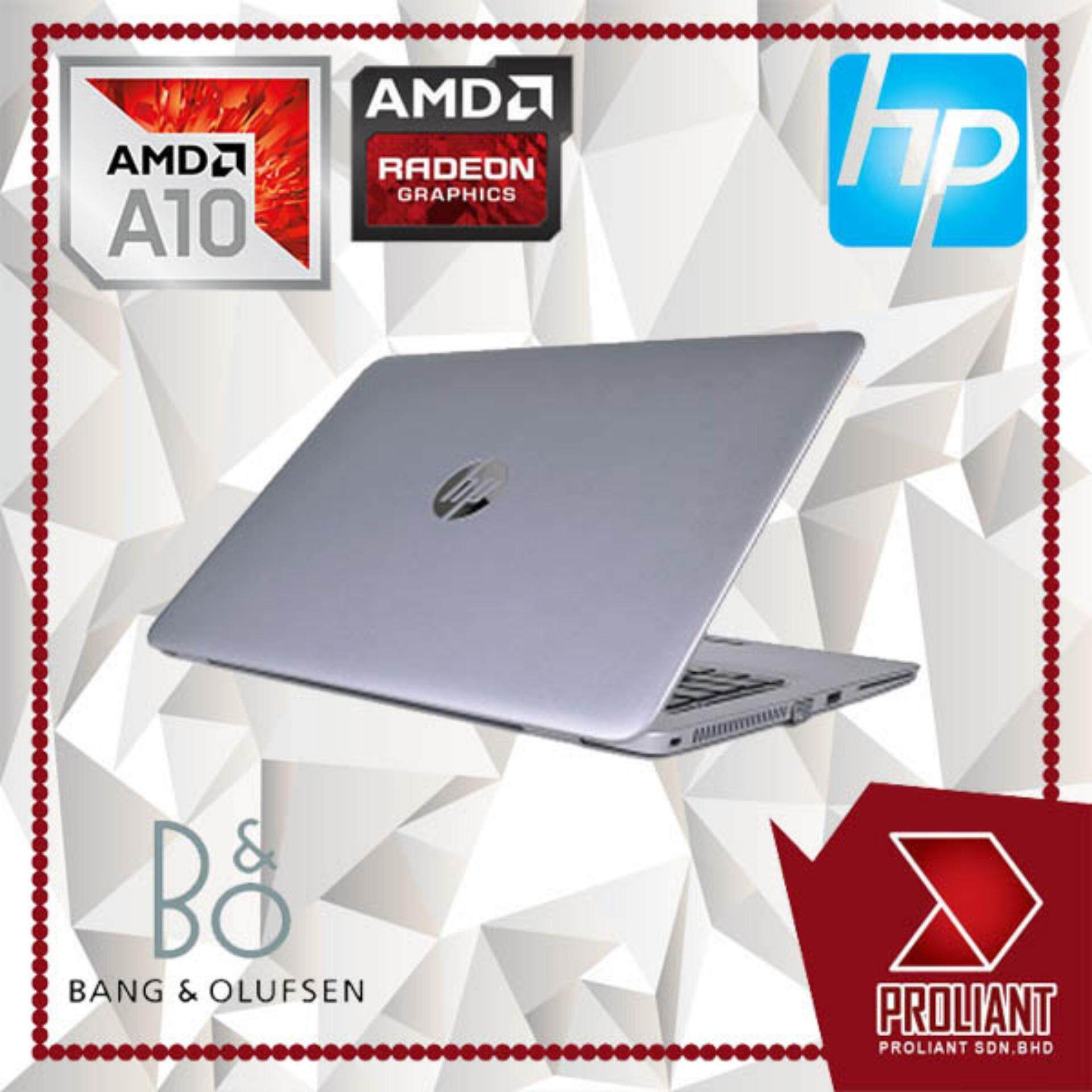 HP ELITEBOOK 745 G3 [ AMD A10 PRO-8700B QUAD CORE  8GB RAM  128GB SSD ] 2 YEAR WARRANTY Malaysia
