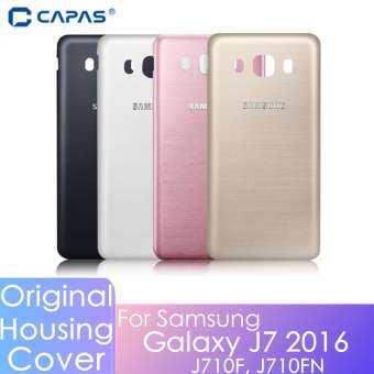 CAPAS สำหรับ Samsung Galaxy J7 2016 J710 ด้านหลังฝาหลังที่อยู่อาศัยอะไหล่ทดแทน + ซ่อมเครื่องมือ 5.5 นิ้ว (J710F, j710FN,J7108)-