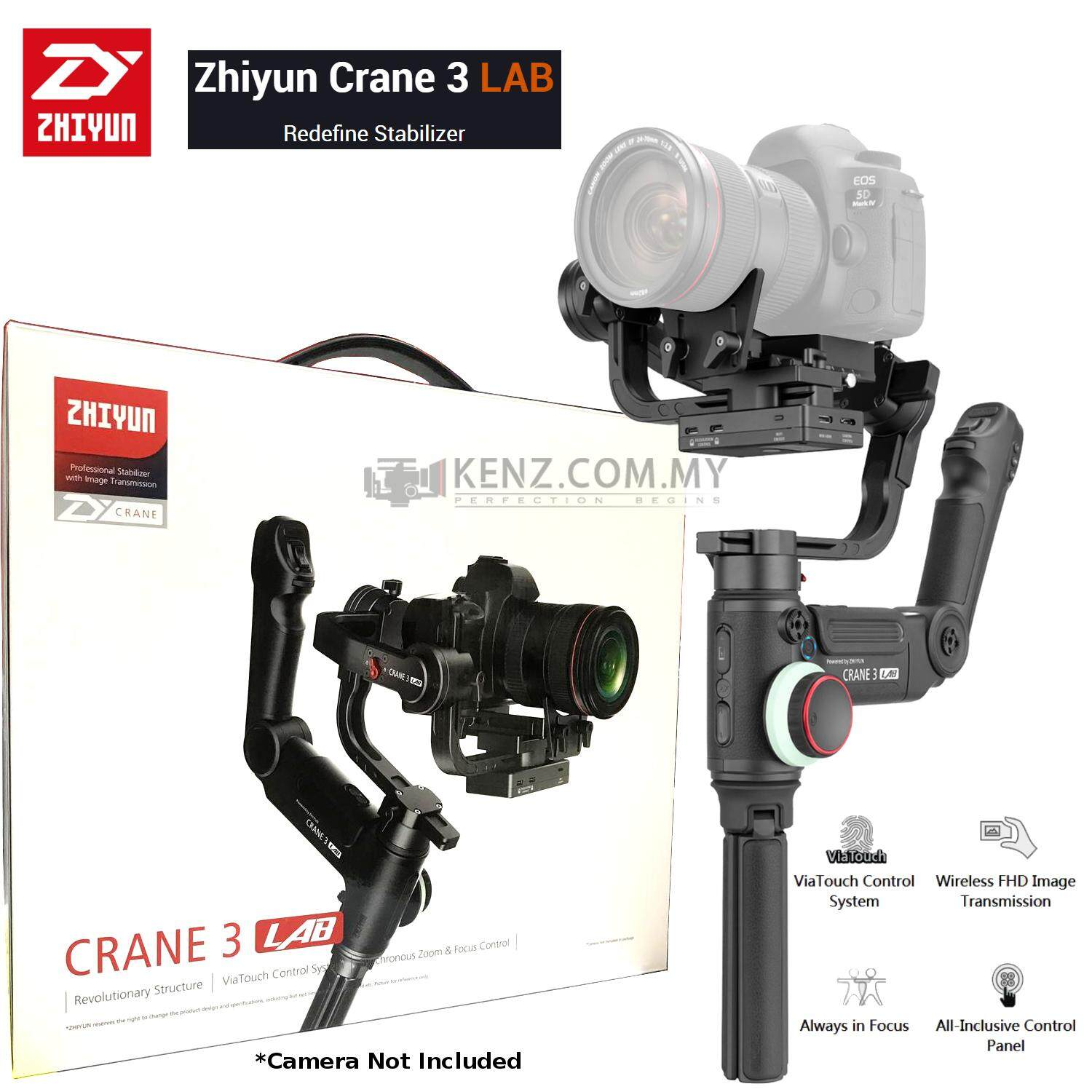 Zhiyun CRANE 3 LAB Handheld Stabilizer DSLR Camera Gimbal iOS Android ZY  PLAY App