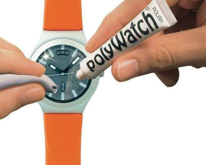 POLYWATCH SCRATCH REMOVAL Plastic/Acrylic Watch Crystals Glasses Repair Malaysia