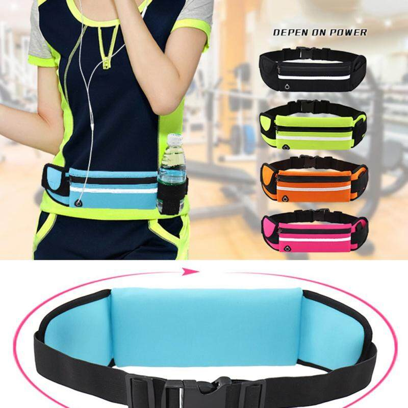 Waist Purse Duck Blue Unisex Outdoor Sports Pouch Fitness Runners Waist Bags