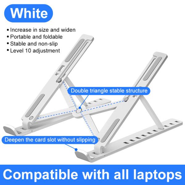 Bảng giá GOOJODOQ Giá Đỡ Laptop Gấp Gọn Có Thể Điều Chỉnh Giá Đỡ Laptop Chống Trượt Giá Đỡ Laptop Máy Tính Để Bàn Giá Đỡ Laptop Cho Macbook Pro Air iPad Pro Cho HP Phong Vũ