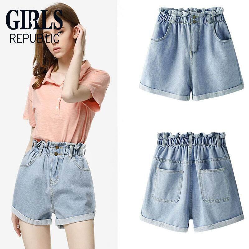Girls Republic Denim Shorts Womens Jeans High Waist Slim Denim Shorts By Girls Republic.