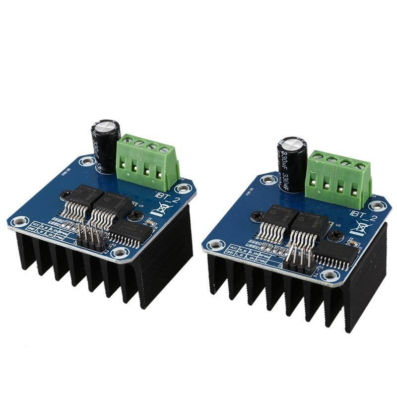 Double BTS7960 43A H-Bridge High-Power Motor Driver Module/Smart Car