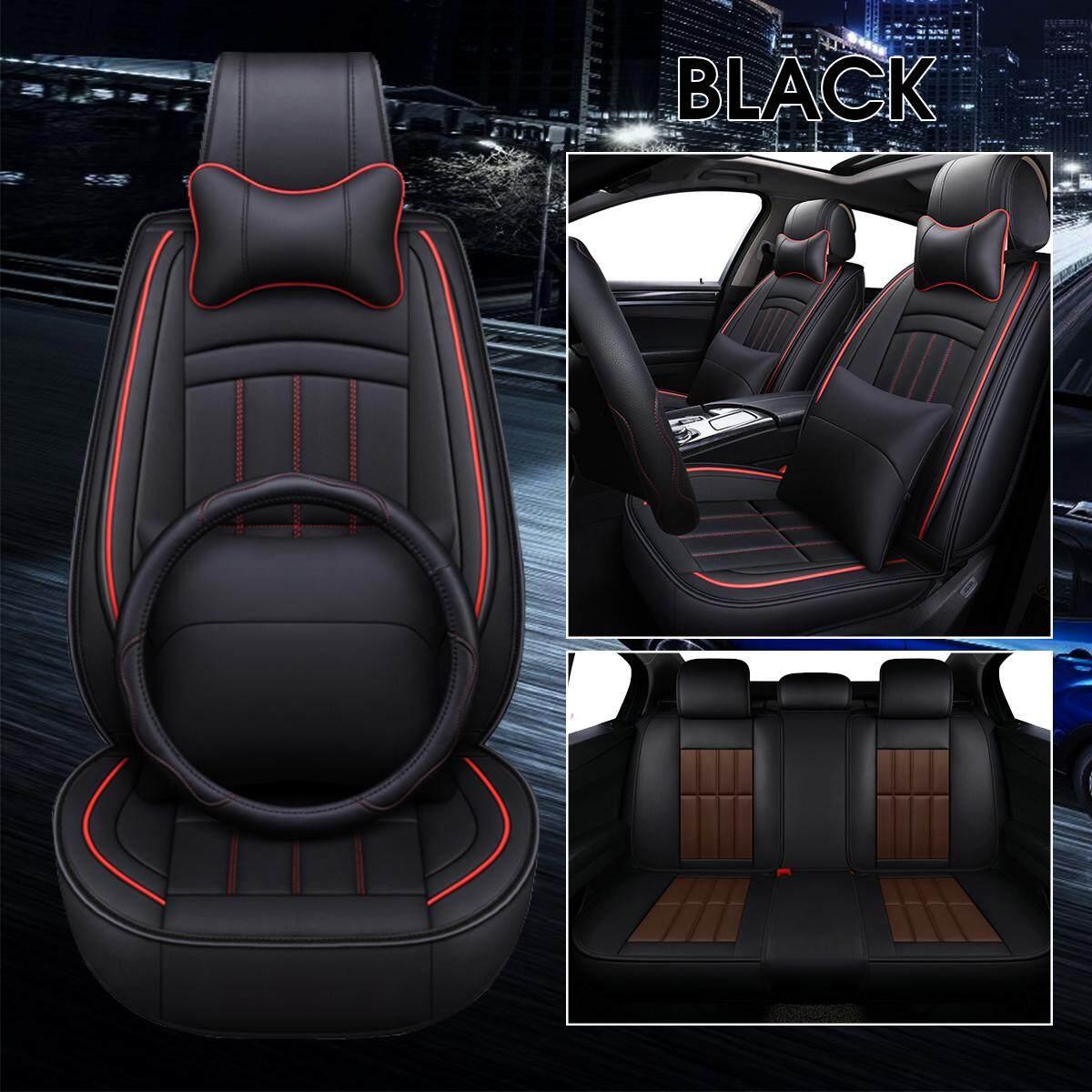 Vauxhall Viva Car Front Seat Protectors Covers Water Resistant Pair Black