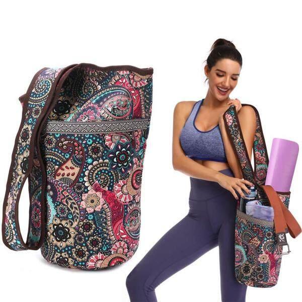 Bảng giá Thời Trang Túi Đựng Thảm Tập Yoga Vải Túi Yoga Kích Thước Lớn Túi Có Khóa Kéo Phù Hợp Với Hầu Hết Các Kích Thước Thảm Yoga Mat Túi Tote Sling Tàu Sân Bay Nguồn Cung Cấp Thể Dục