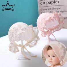 I Love Daddy&Mummy Mũ họa tiết hoa chất liệu cotton thoáng khí dùng làm đạo cụ chụp ảnh cho trẻ sơ sinh – INTL