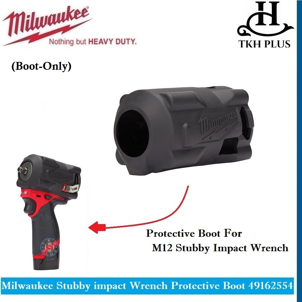 Milwaukee 49-16-2554 M12 FUEL STUBBY Impact Wrench Protective Boot Boot-Only