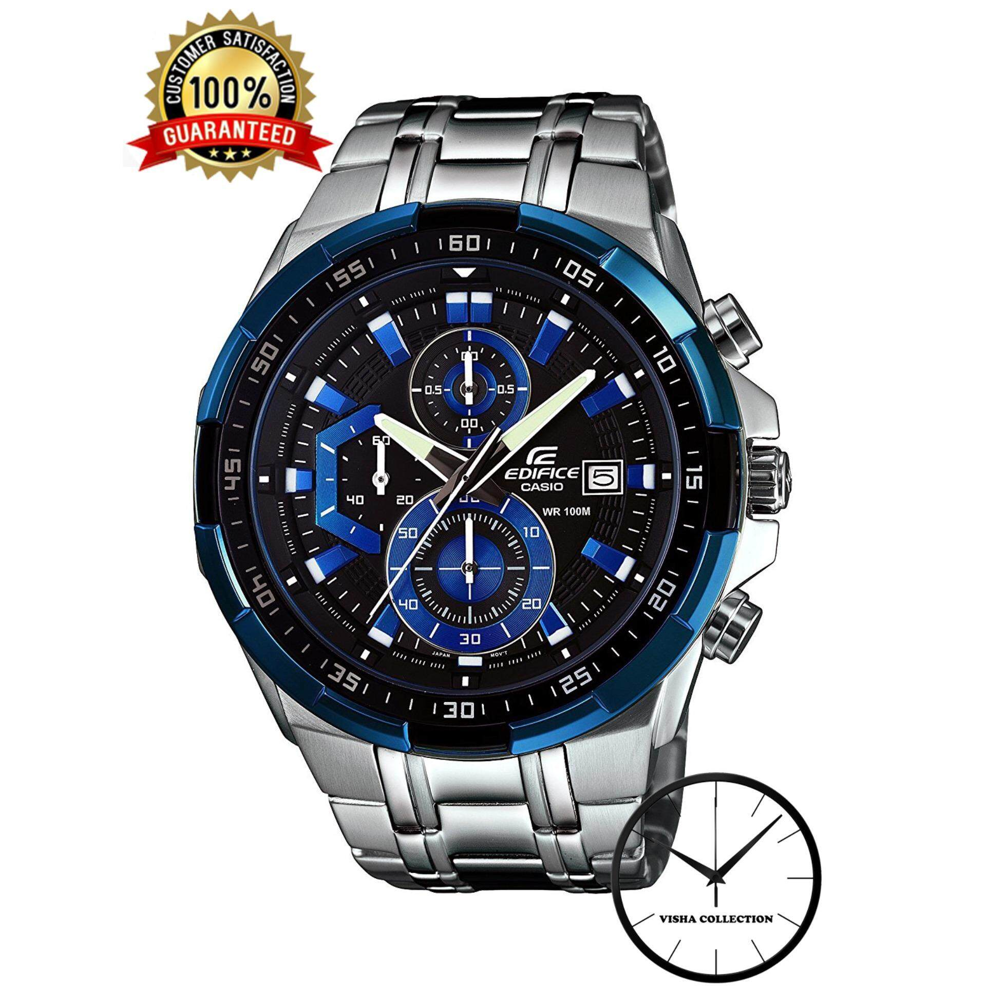 Special Promotion Premium Quality Efr-539d-1a2vu Men Fashion Blue Dial Water Resistant Watch Malaysia