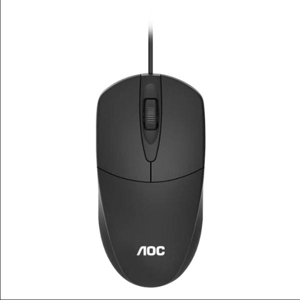 Bảng giá AOC MS121 Hiệu Suất Cao Chuột USB Có Dây Cảm Biến Quang Học 1200 DPI Với Bề Mặt Mịn & Cao Su Scroller Phong Vũ