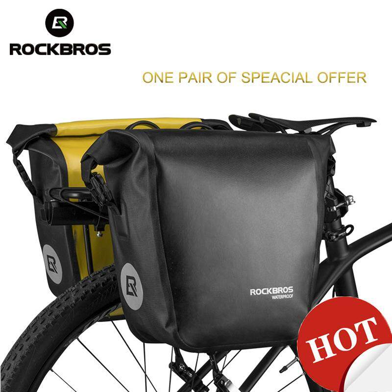 Cycling Bike Bicycle Rear Tail Seat trunk Bag Pannier Pouch Rack New