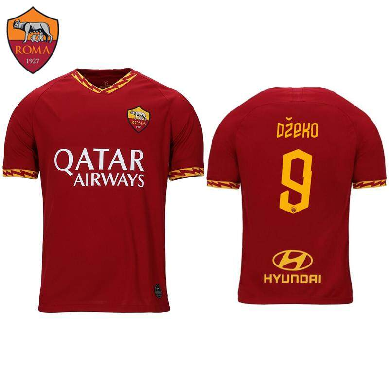 60b9c6d82 2019/2020 Top Quality AS Roma Jersey NO.16 DE ROSSI Football Jersey 9