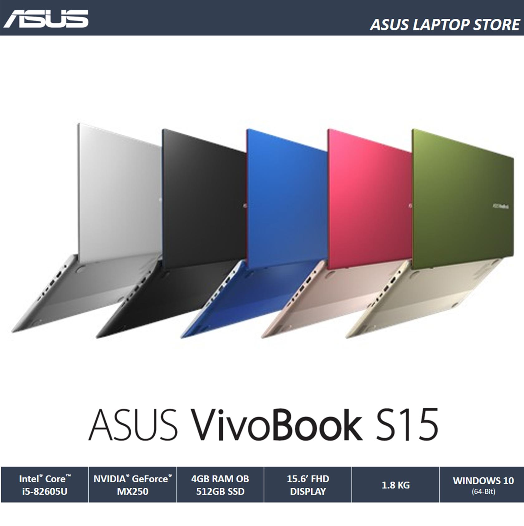 Asus Vivobook S S531 15   Laptop (I5-8265U/4GB OB/512GB SSD/MX250 2GB) Free Backpack Malaysia