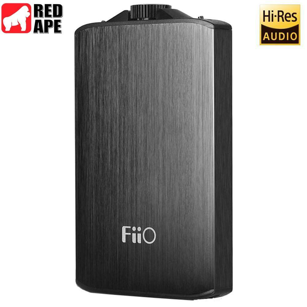 FiiO A3 (E11K) Portable Headphone Amplifier - (Black) by RED APE