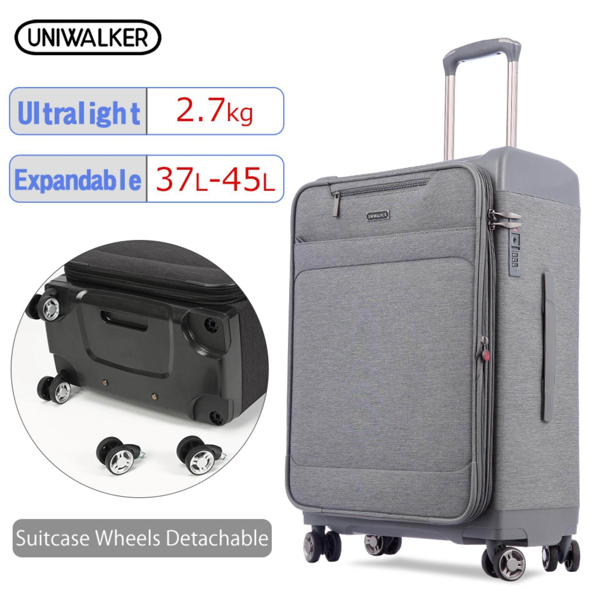 Uniwalker Travel Trolley Luggage Expandable Oxford Suit Case Ultralight Flight Bag Waterproof Case Luggage Universal Wheel Bussiness Suitcase